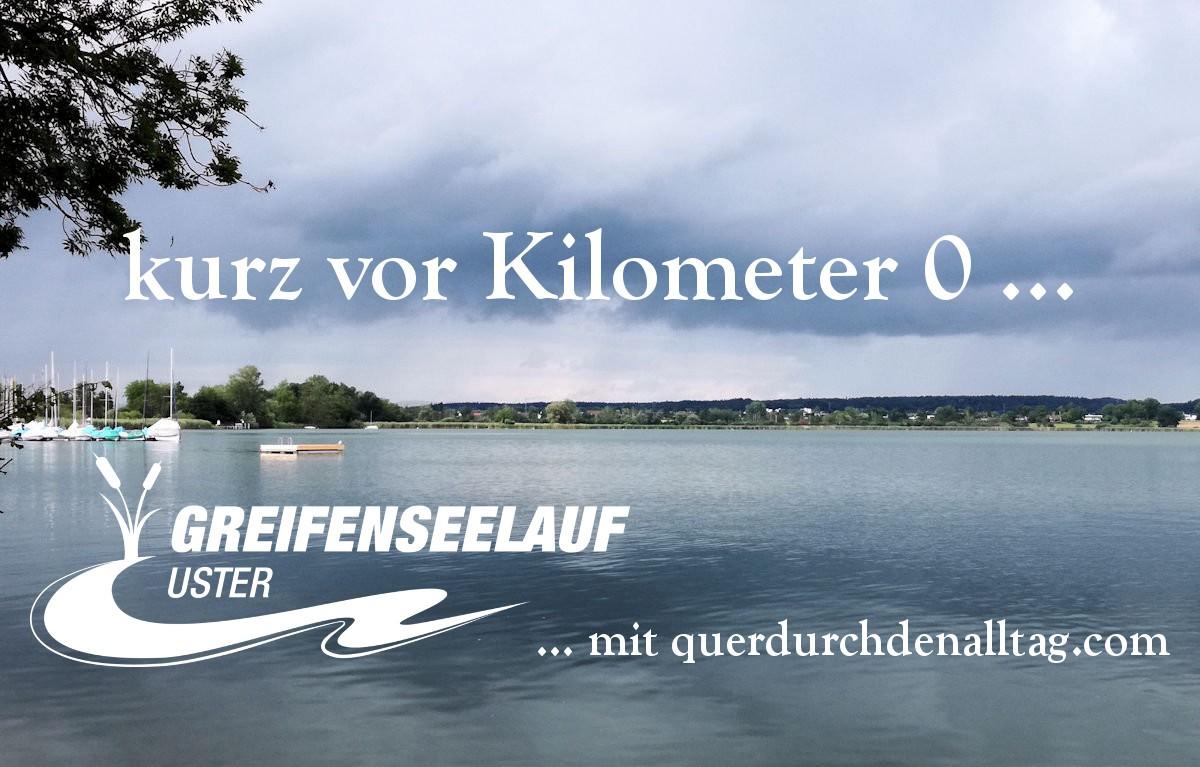 Greifenseelauf 2017 kurz vor Kilometer 0