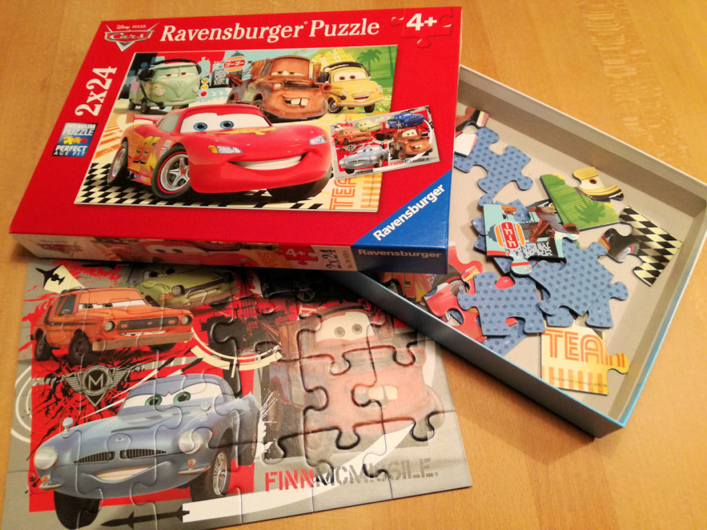 Kinde Entwicklung Puzzle