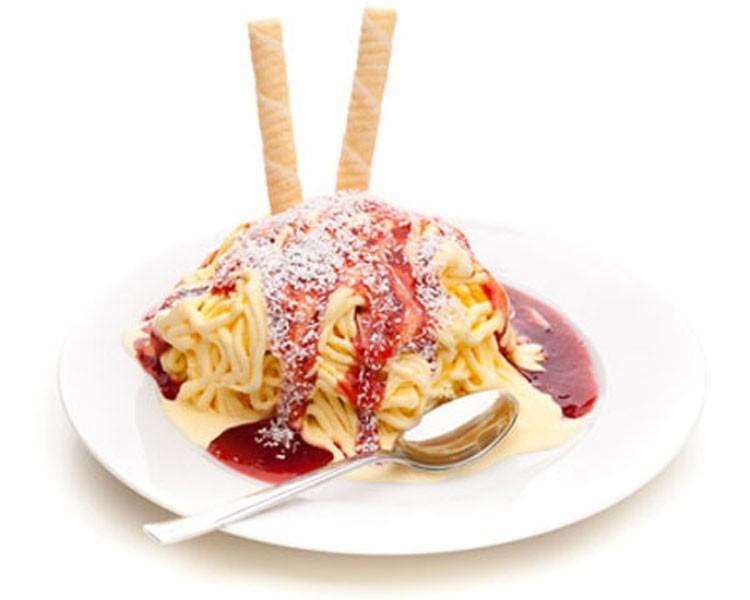 Spaghettieis Deutschland