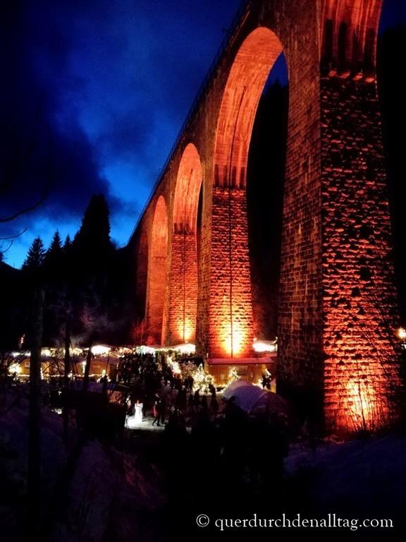Weihnachtsmarkt Ravennaschlucht Schwarzwald