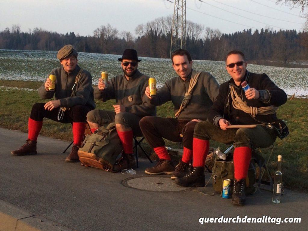 Fasnacht Luzern Wanderer 2015