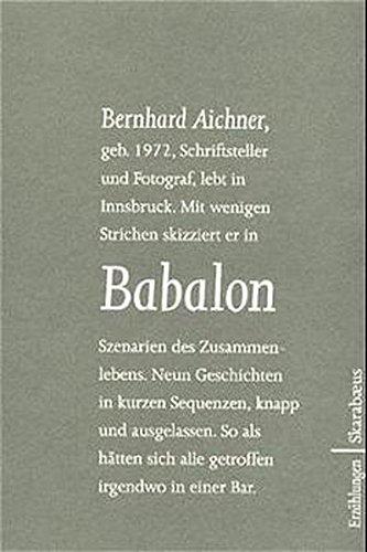 Bernhard Aichner Babalon