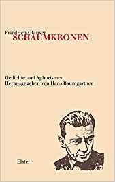 Friedrich Glauser Schaumkronen