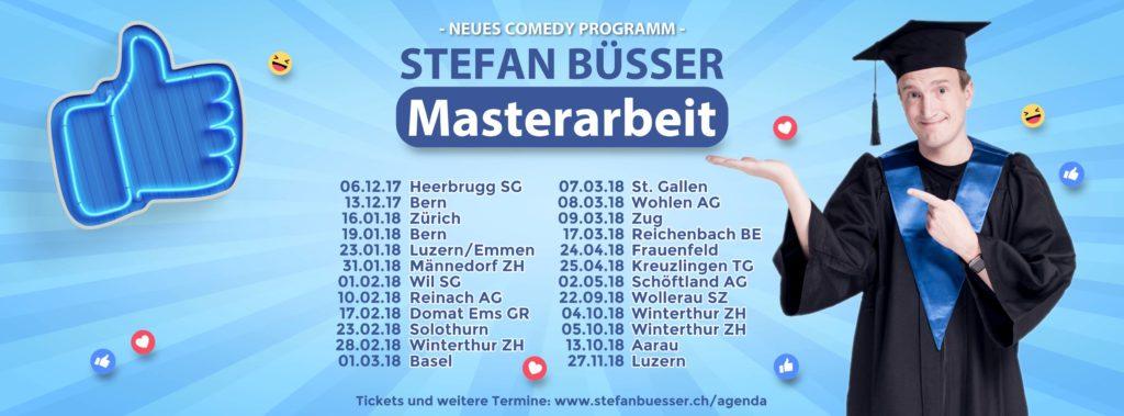Stefan Büsser Masterarbeit Tour