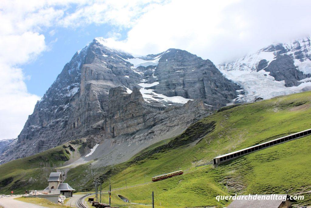 Bärentrek Jungfrau Marathon Kleine Scheidegg