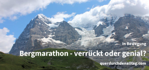 Bewegung Laufen Bergmarathon