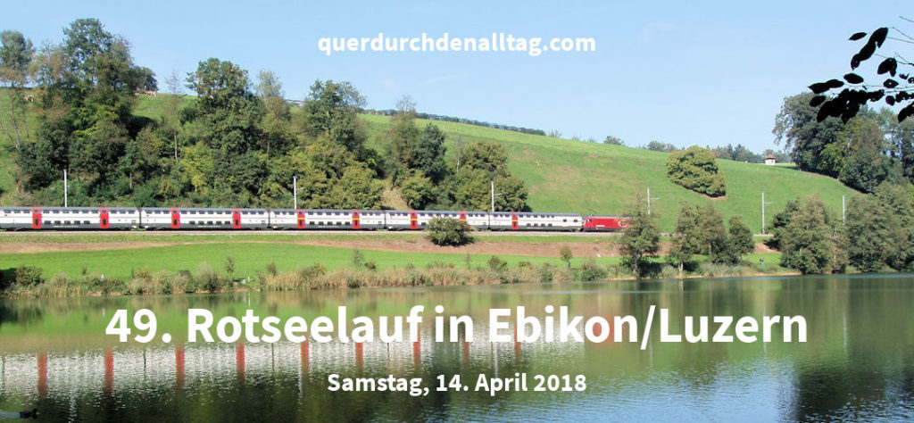 Bewegung Rotseelauf Ebikon Luzern