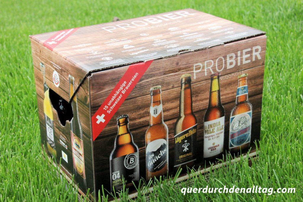 Schweiz Bier Kultur Genusskiste