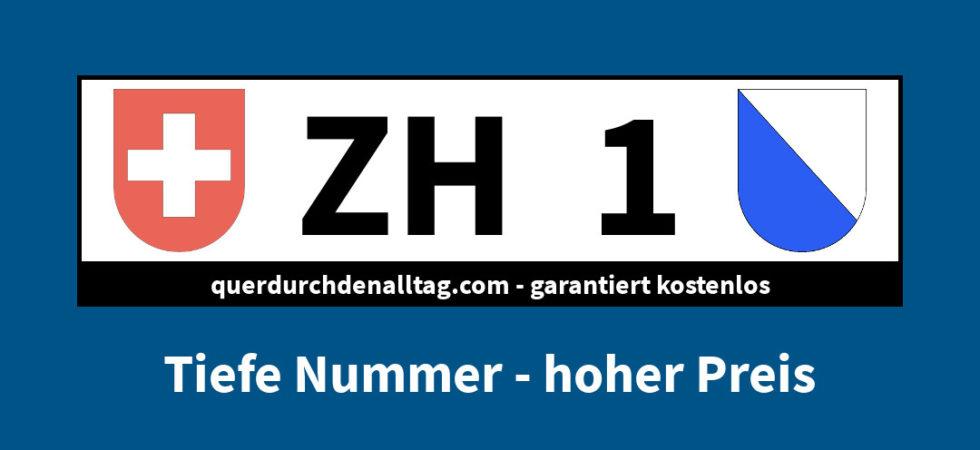 Kontrollschild Schweiz
