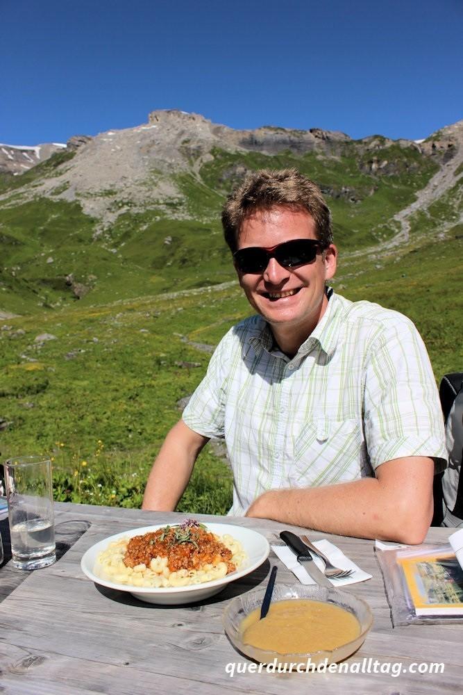 Bewegung Wandern Bärentrek Rotstockhütte