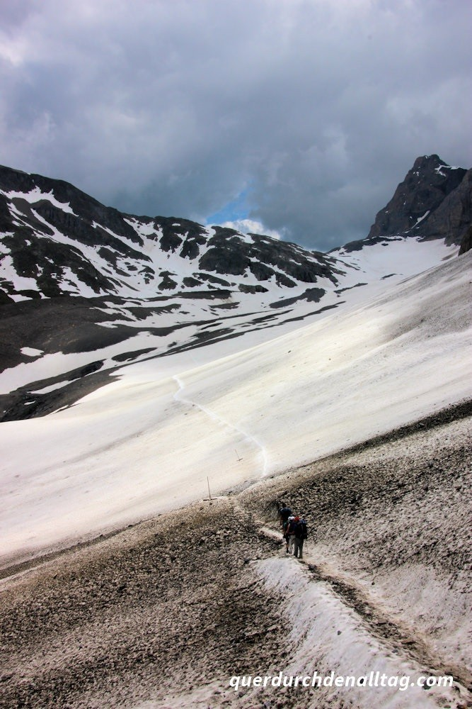 Bewegung Wandern Lötschenpass