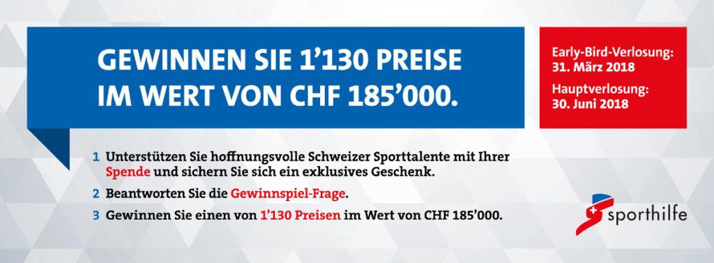 Bewegung Schweizer Sporthilfe Super10kampf Gewinnspiel