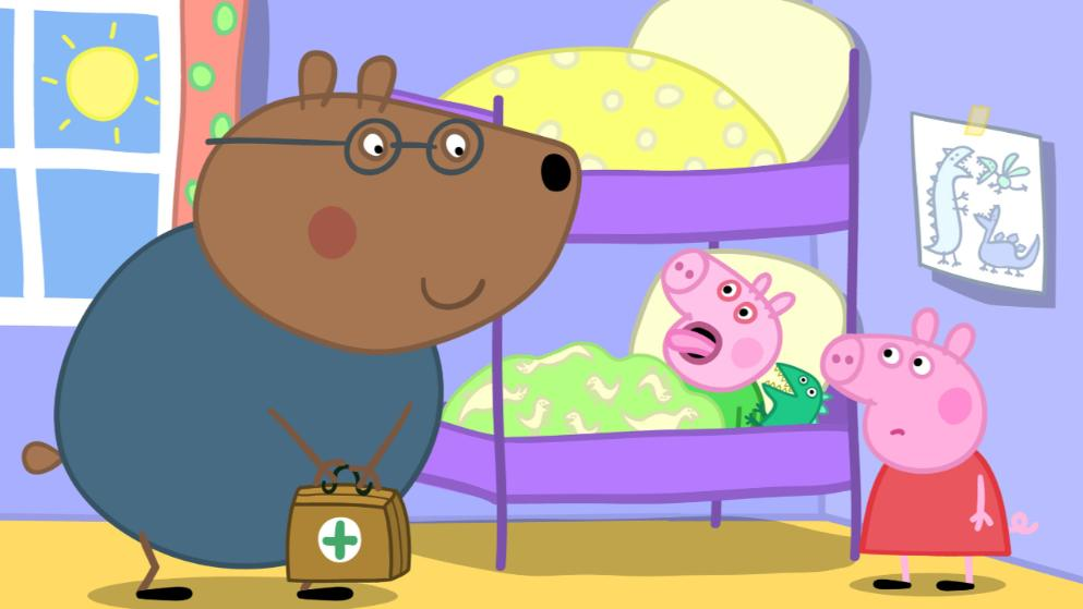 Peppa Wutz Doctor Braunbär