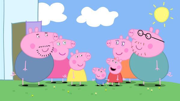 Peppa Wutz Familie