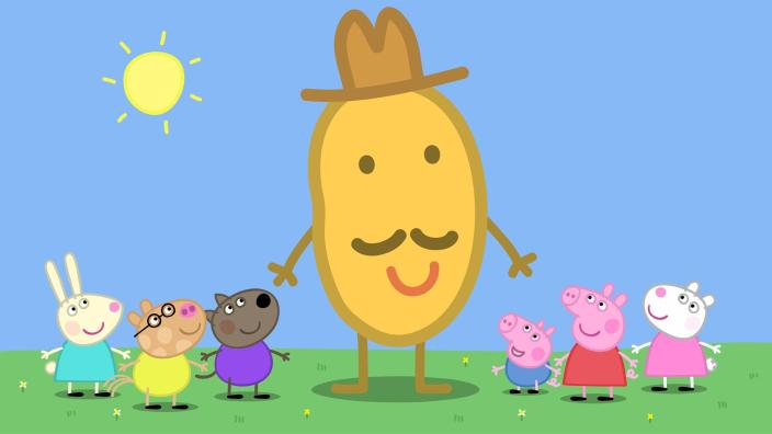 Peppa Wutz Kartoffel