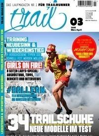 Bewegung trail Magazin