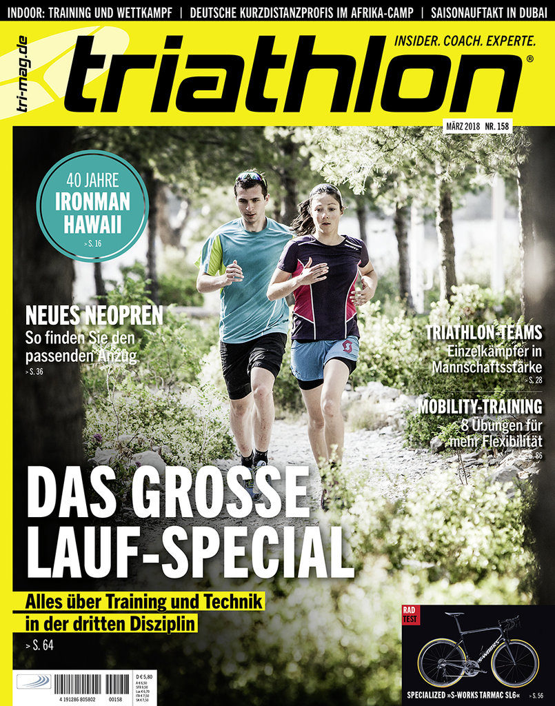 Bewegung triathlon Magazin
