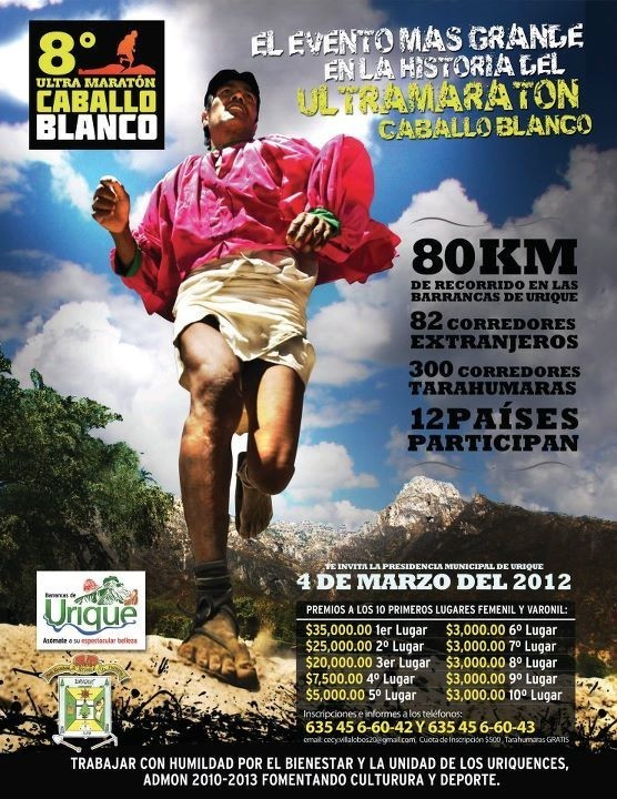 Ultramarathon Caballo Blanco Born To Run
