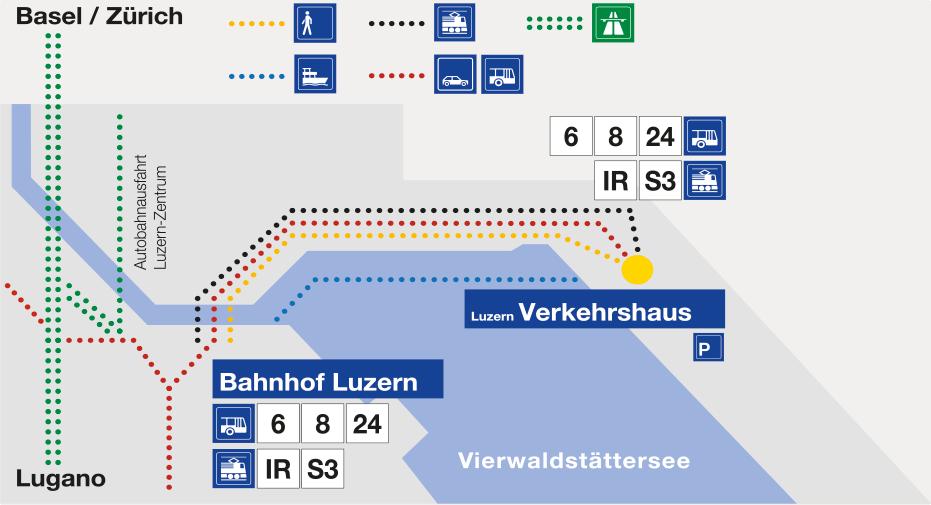 Verkehrshaus der Schweiz Luzern Anfahrt