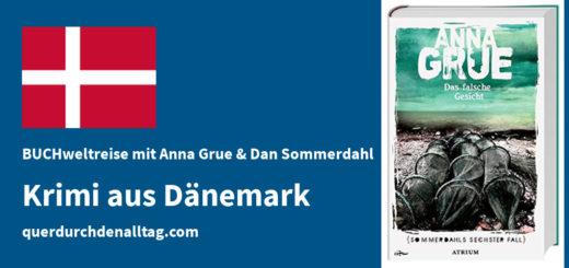 BUCHweltreise Anna Grue Das falsche Gesicht