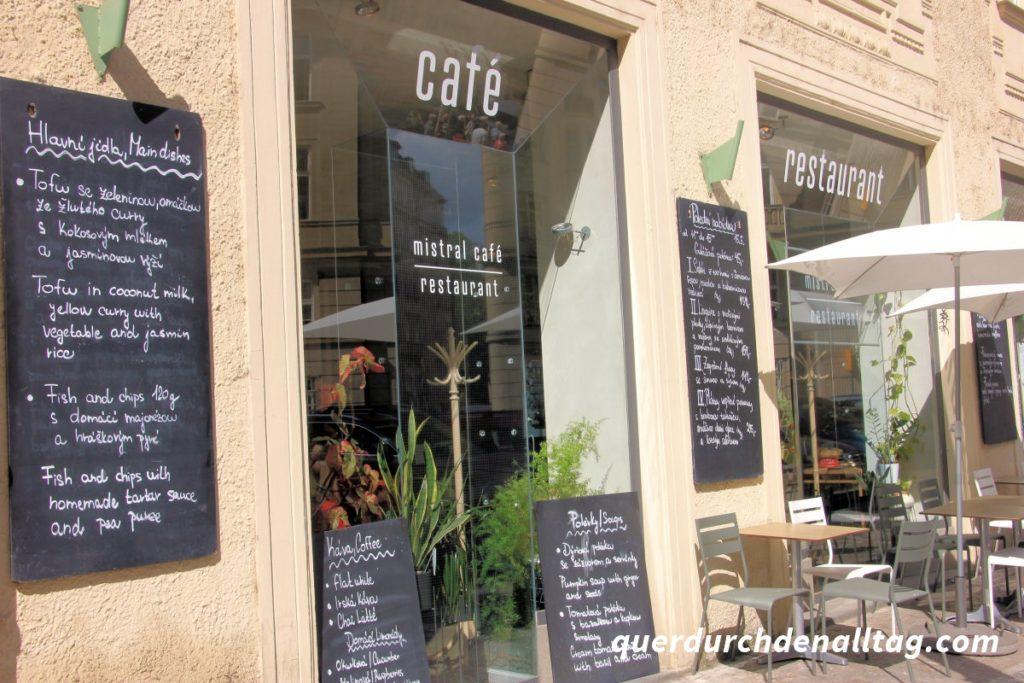 Mistral Café Restaurant Prag