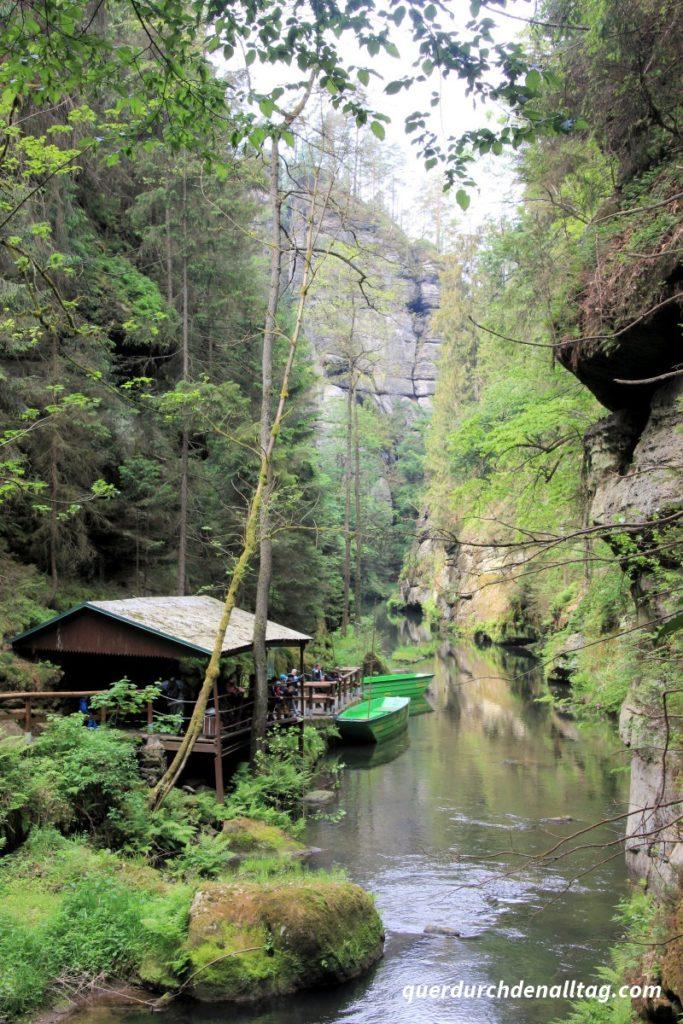 Sächsische Schweiz Edmundsklamm Hrensko