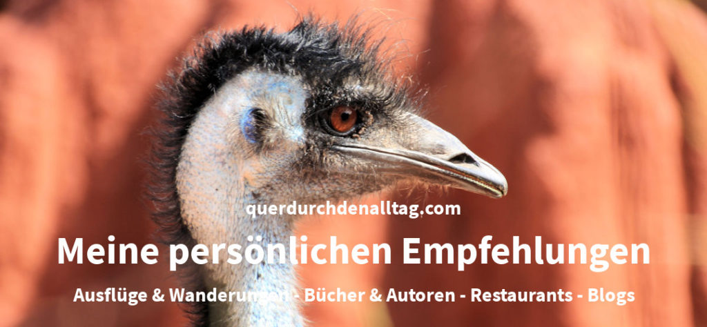 Empfehlungen Blog Bücher Autoren Ausflüge Wandern Restaurant