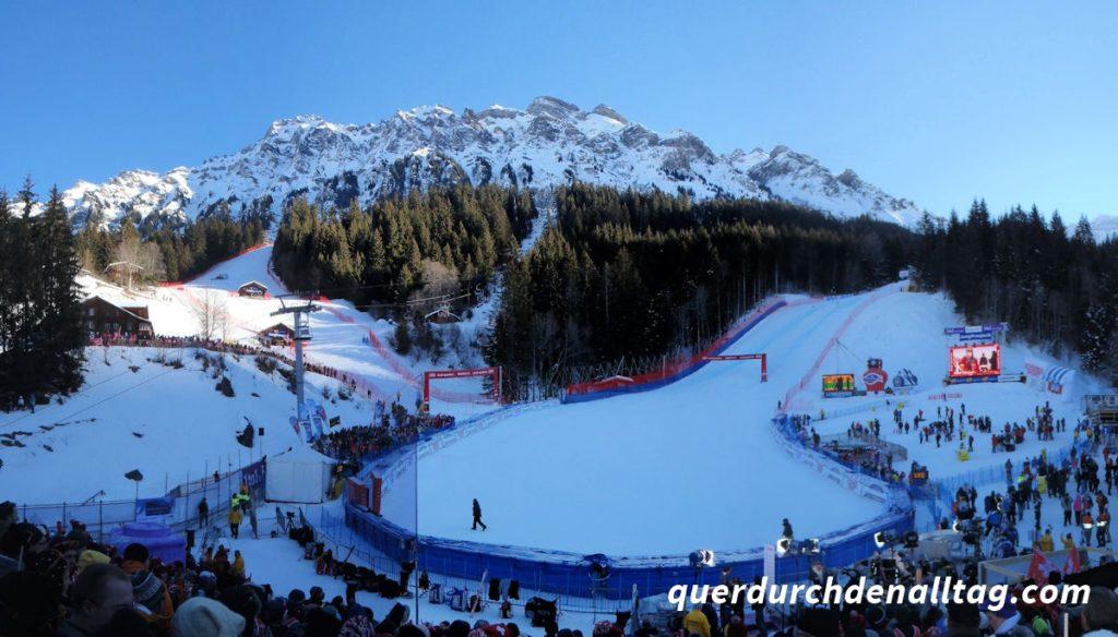 Ski Winter Lauberhorn Wengen 2012