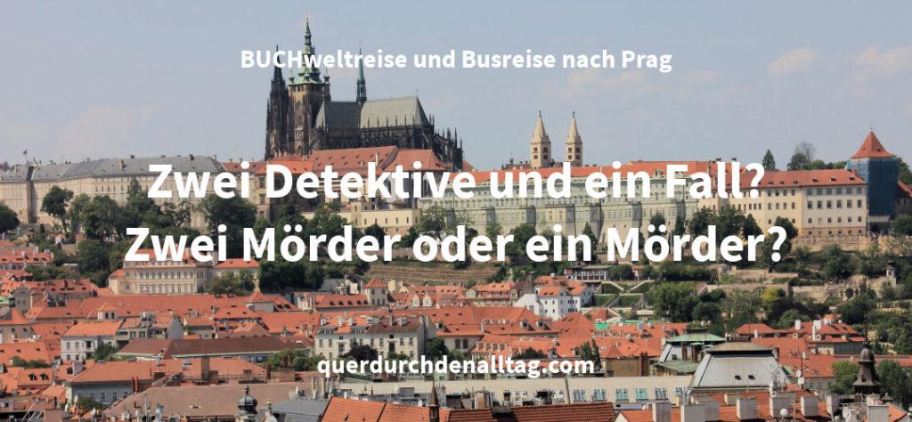Andreas Gruber BUCHweltreise Prag Tschechien Schwarze Dame