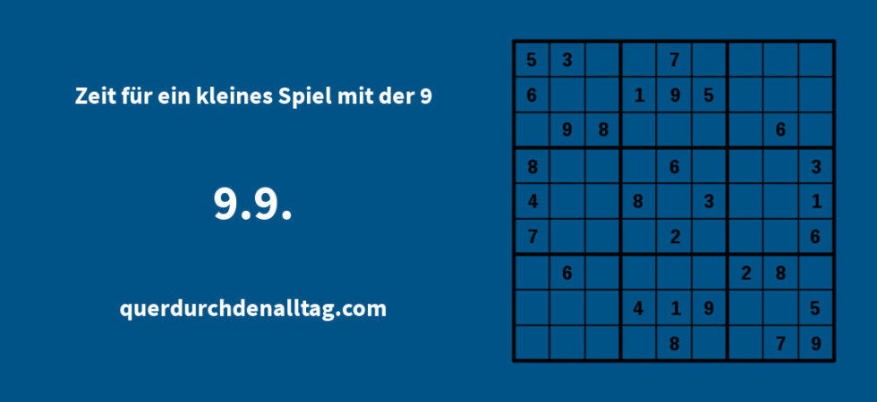 Bewegung Kopf Rätsel Sudoku 9