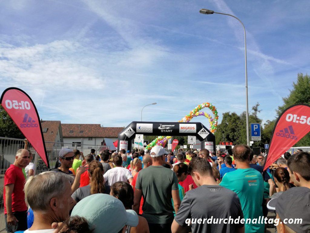Greifenseelauf Halbmarathon 2018 Start