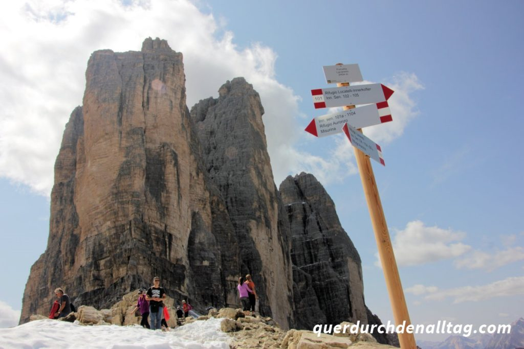 Drei Zinnen Südtirol Dolomiten Italien