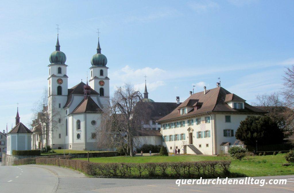 Eschenbach Luzern Pfarrkirche Kloster