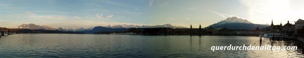 Luzern Panorama Alpen