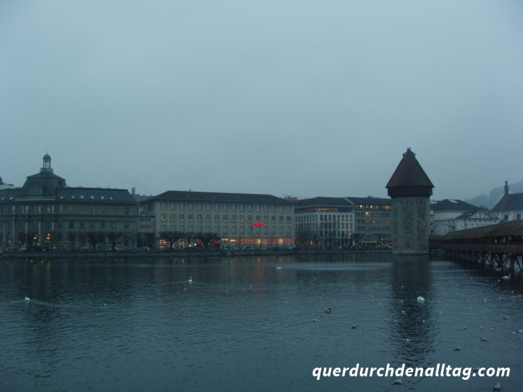 Luzern Pilatus Nebel Herbst Winter