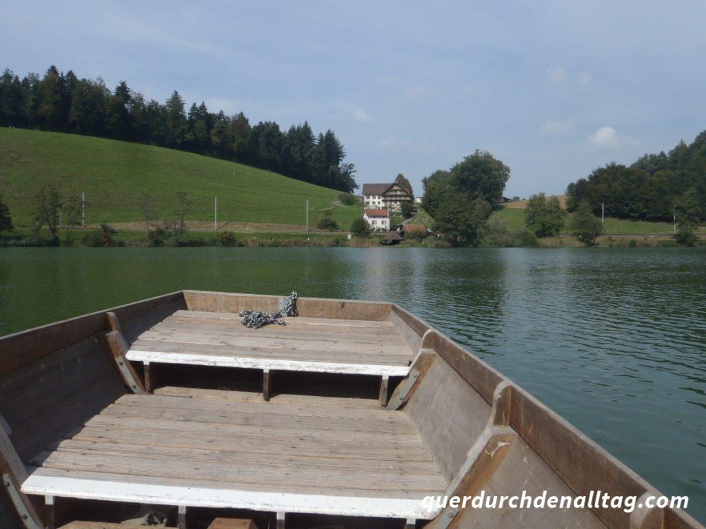 Luzern Rotsee Fähre