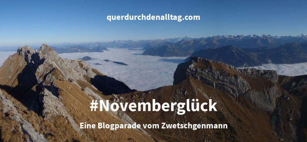 Novemberglück Blogparade Zwetschgenmann