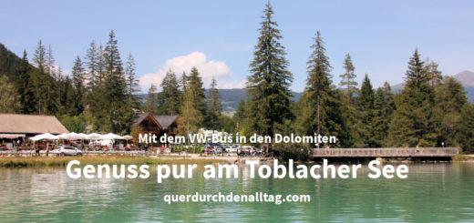 Toblacher See Südtirol Dolomiten Italien