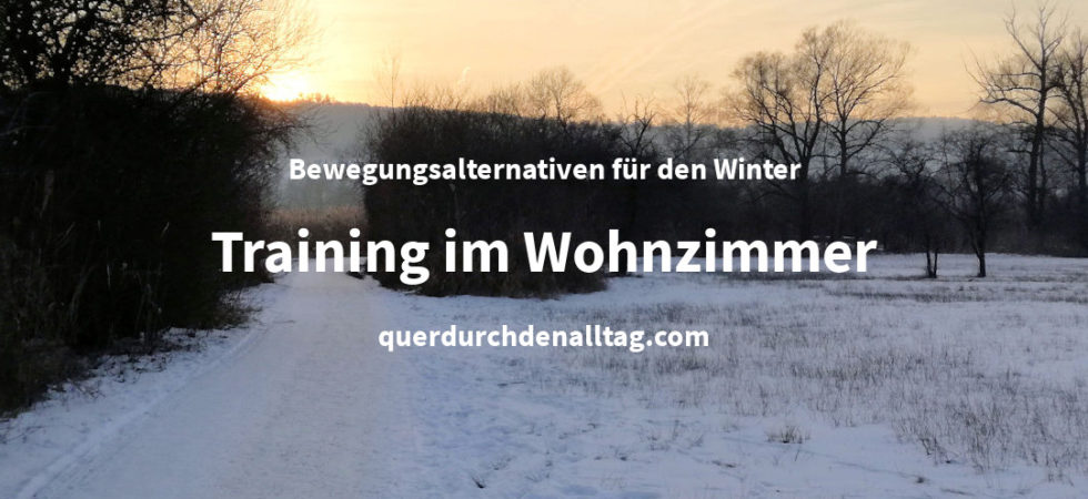 Bewegung Winter Hometrainer