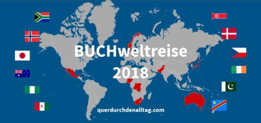 Buchweltreise Karte 2018