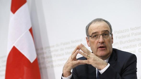 Schweiz Bundesrat Guy Parmelin