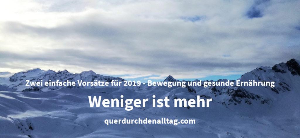 Bewegung Neujahr Vorsätze