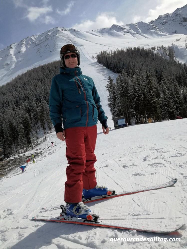 Bewegung Winter Skifahren