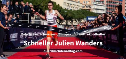 Bewegung Laufen Julien Wanders Schweiz