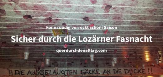 Fasnacht Luzern Wegleitung 2019