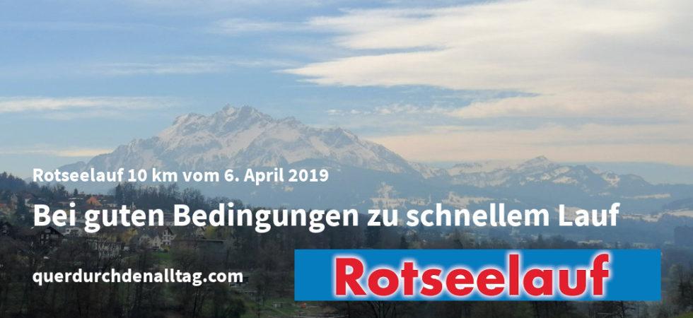 Laufen Rotseelauf Ebikon Luzern 2019