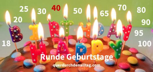Runde Geburtstage 40