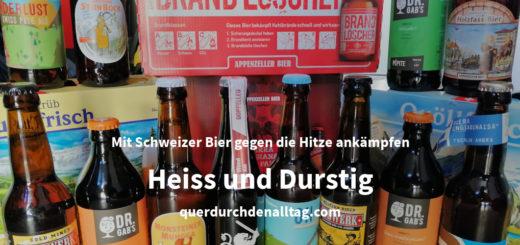 Schweizer Bier Sommer Hitze Durst