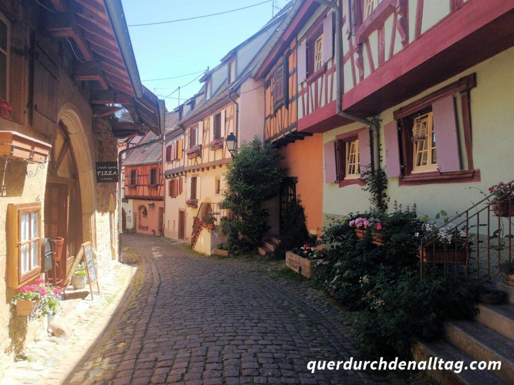 Elsass Eguisheim Weinstrasse