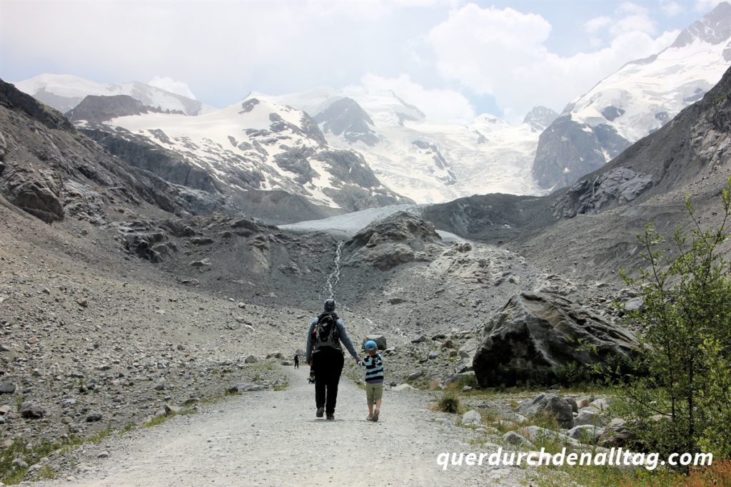 Morteratsch Gletscher Bernina Engadin